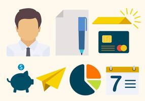 Flat Business Vectors
