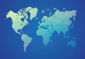 Mapa mundi vectorial