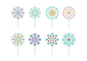 Gratis Blowball Vector Pack