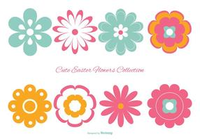 Cute Colorful Easter Flowers Collection
