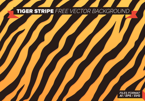 Fundo da listra do tigre Free Vector