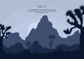 Yucca Hintergrund