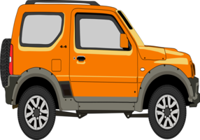 Suzuki Jimny 4Sport vecteur