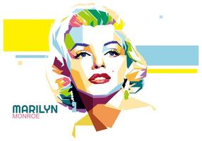 wpap di vettore di Marilyn Monroe