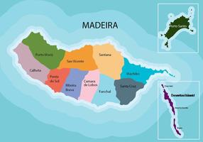 Madeira Mapa