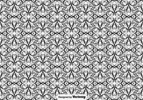 Illustrationen Vector Flourish Seamless Pattern