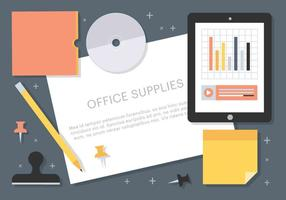 Gratis Vector Office Supplies