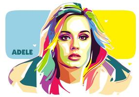 Adele Vector Popart Portret