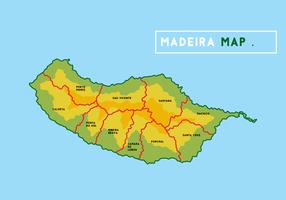 Madeira Karte