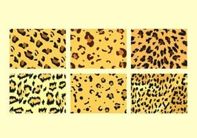 Freie Leopard-Muster-Vektoren