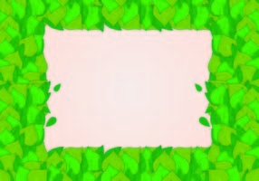 Fondo de hojas verdes naturales