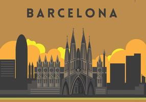 Sagrada Familia Illustratie Vector
