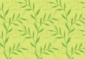 Leafy Contexte Daun Vector