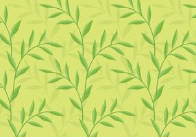 Groene achtergrond Daun Vector