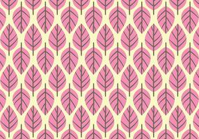 Pink Leaf Background Daun Vector