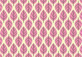 Rosa blad bakgrund Daun vektor