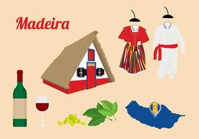 Gratis Point of Interest von Madeira Vektoren