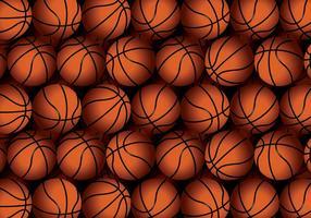 La textura del baloncesto del vector