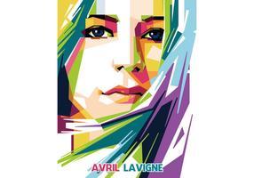 WPAP vettoriale Avril Lavigne
