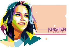 Kristen Stewart Vektor WPAP