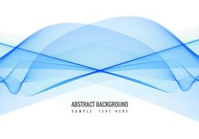 Gratis Vector Blue Wave background