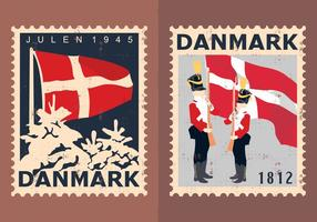 Denemarken Travel Stamps
