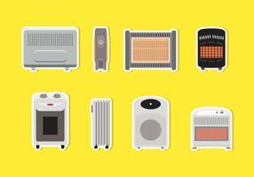 Diverse Heater Vectoren