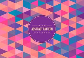 Colorful Abstract Polygon Pattern Background vector