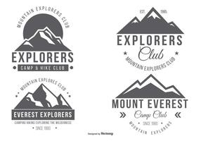 Mountian Explorateur Logo Collection