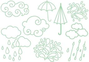 Free Rainy Season Vectors