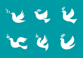 Eenvoudige Paloma Logo Vector