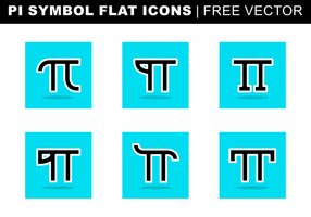 Pi Symbol Wohnung Icons Free Vector