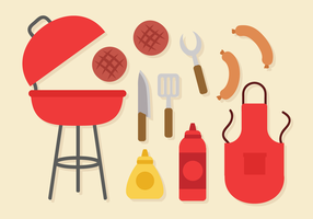 Free Vector Elements Churrasco