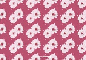 Peach Blossom Floral Background