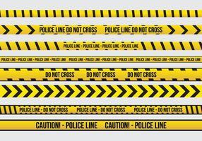 El peligro del vector de la cinta