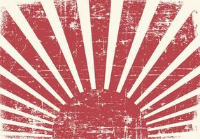 Old Grunge Kamikaze-Stil Hintergrund