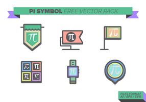 Pi Symbol gratuito Pacote Vector