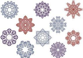 Libres Ornamentos orientales de vectores