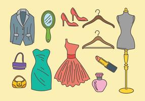 Free Dressing Room Icons Vector