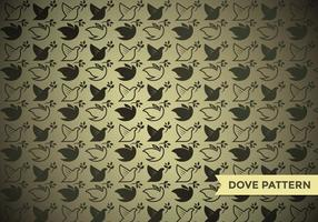Paloma Dove Pattern Vector