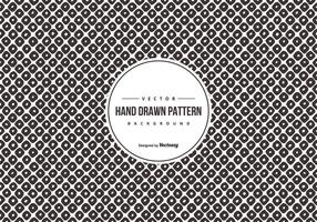Hand Drawn Style Pattern Background vector