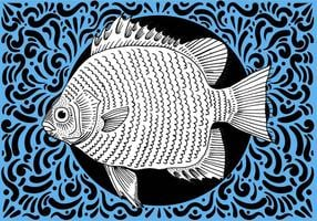 Ornement Fish Design
