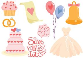 Gratis Wedding Vectoren