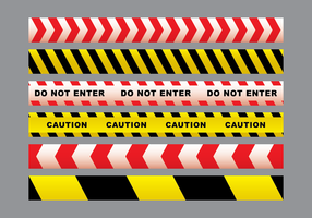 Danger Tape Vector Pack