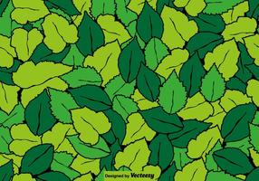 Leaf Seamless Pattern - Vector