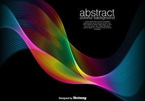 Abstrakt bakgrund - färgglada vektor Spectrum