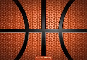 Vector Basketball Texture Background