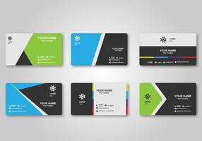 Bright Blank Business Card Design