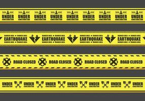 Warning Tape Vectors