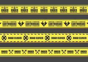 Varning Tape vektorer